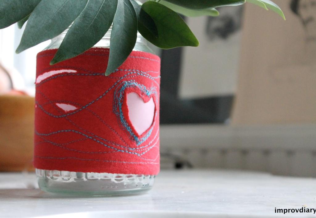 valentine vase